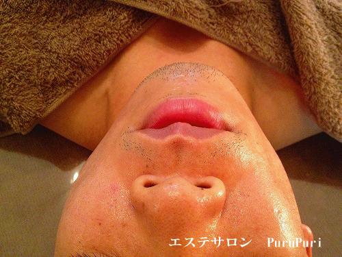 顔筋マッサージ1